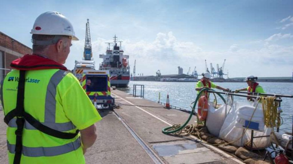 Hydrodemolition Hull Docks